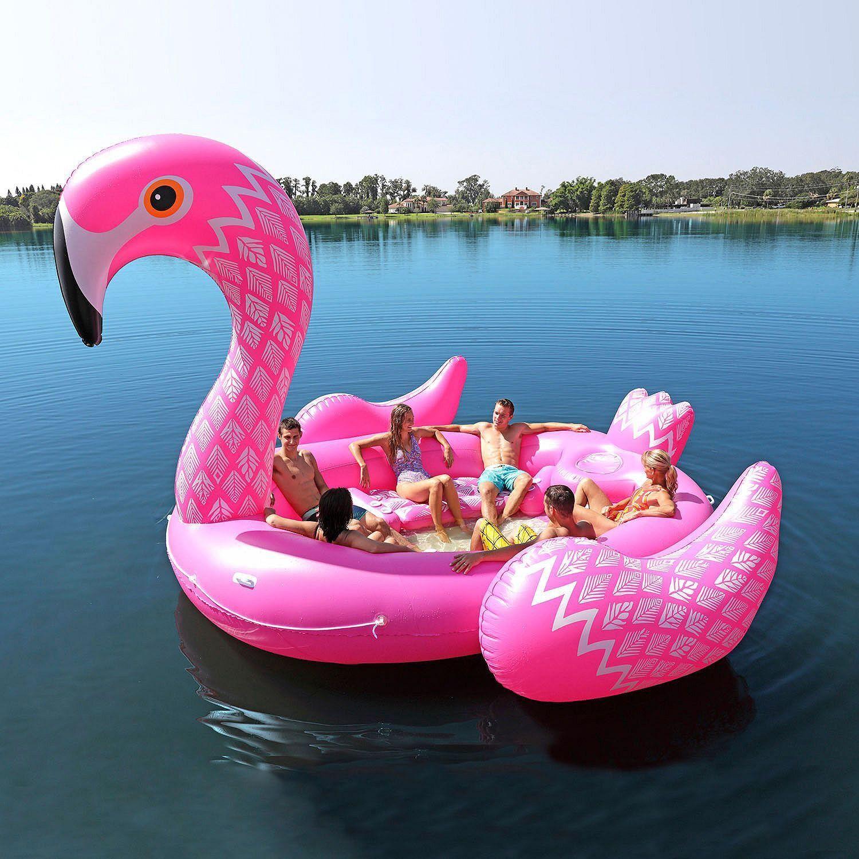 Delta i jakten på den store rosa FLAMINGO!