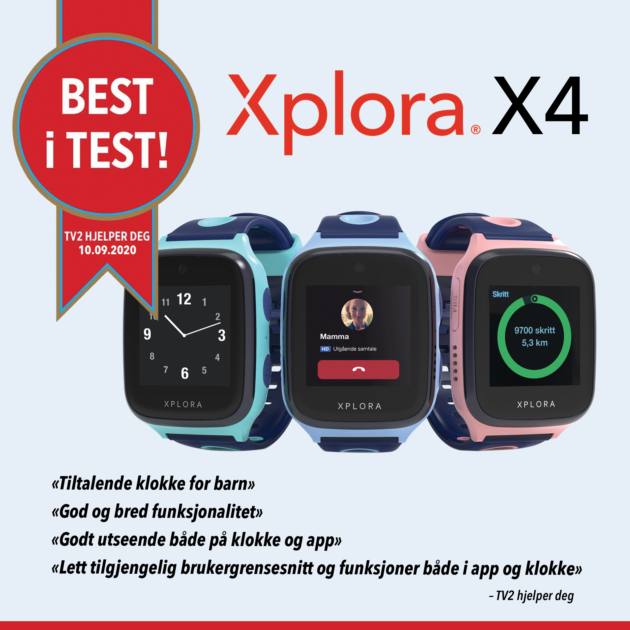 best-i-test-xplora-smartklokke-barn