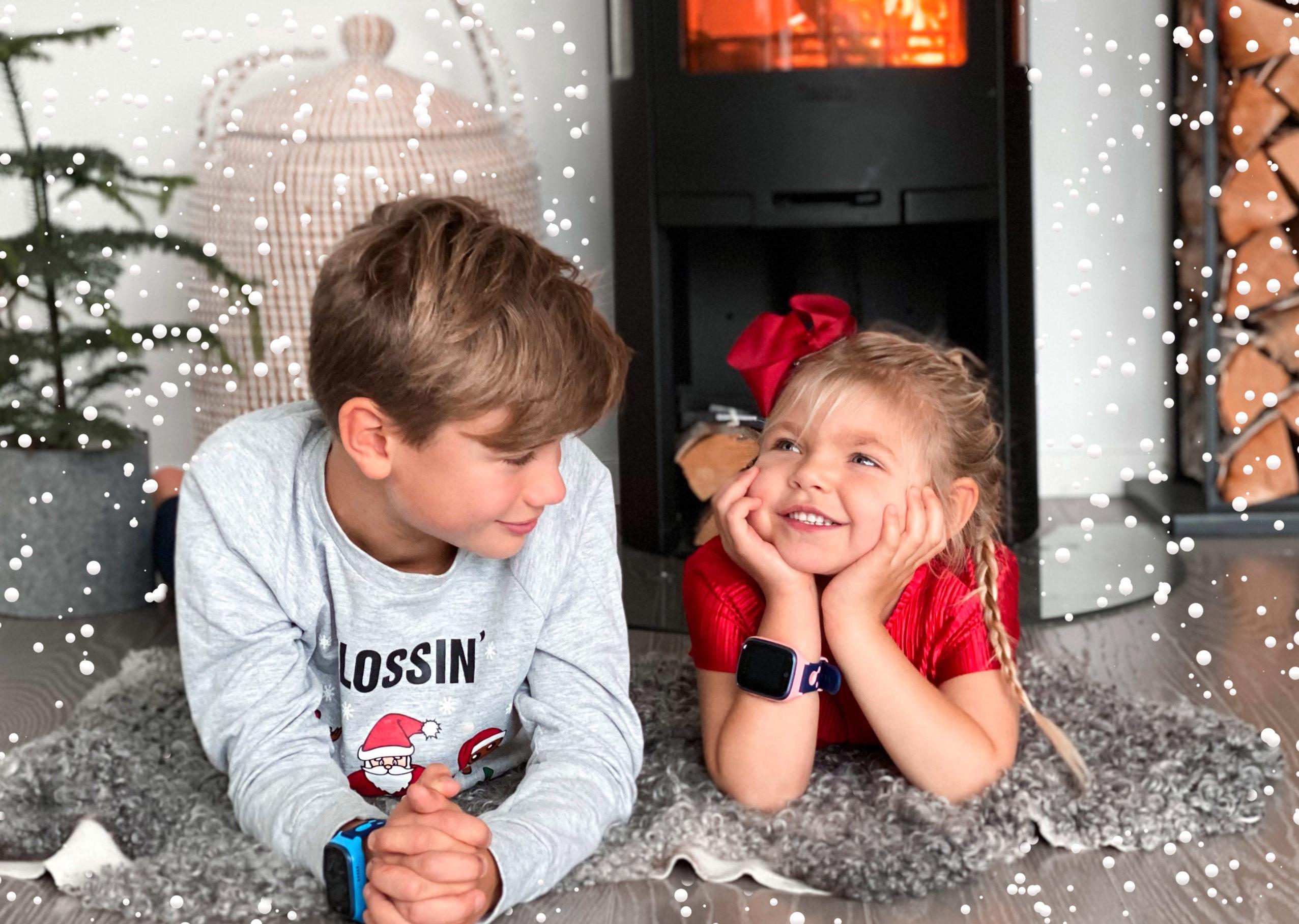 5 steg til barnas beste julekort