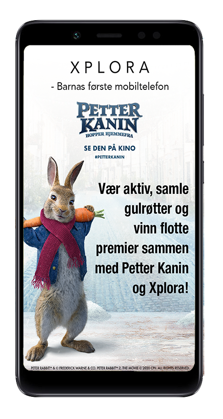 mobiltelefon-med-petter-kanin