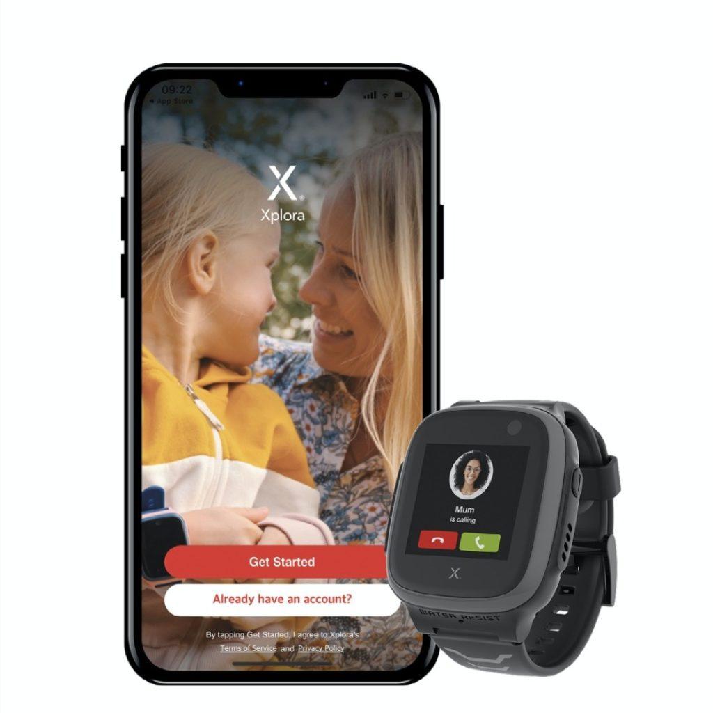 xplora smartklokke og mobil