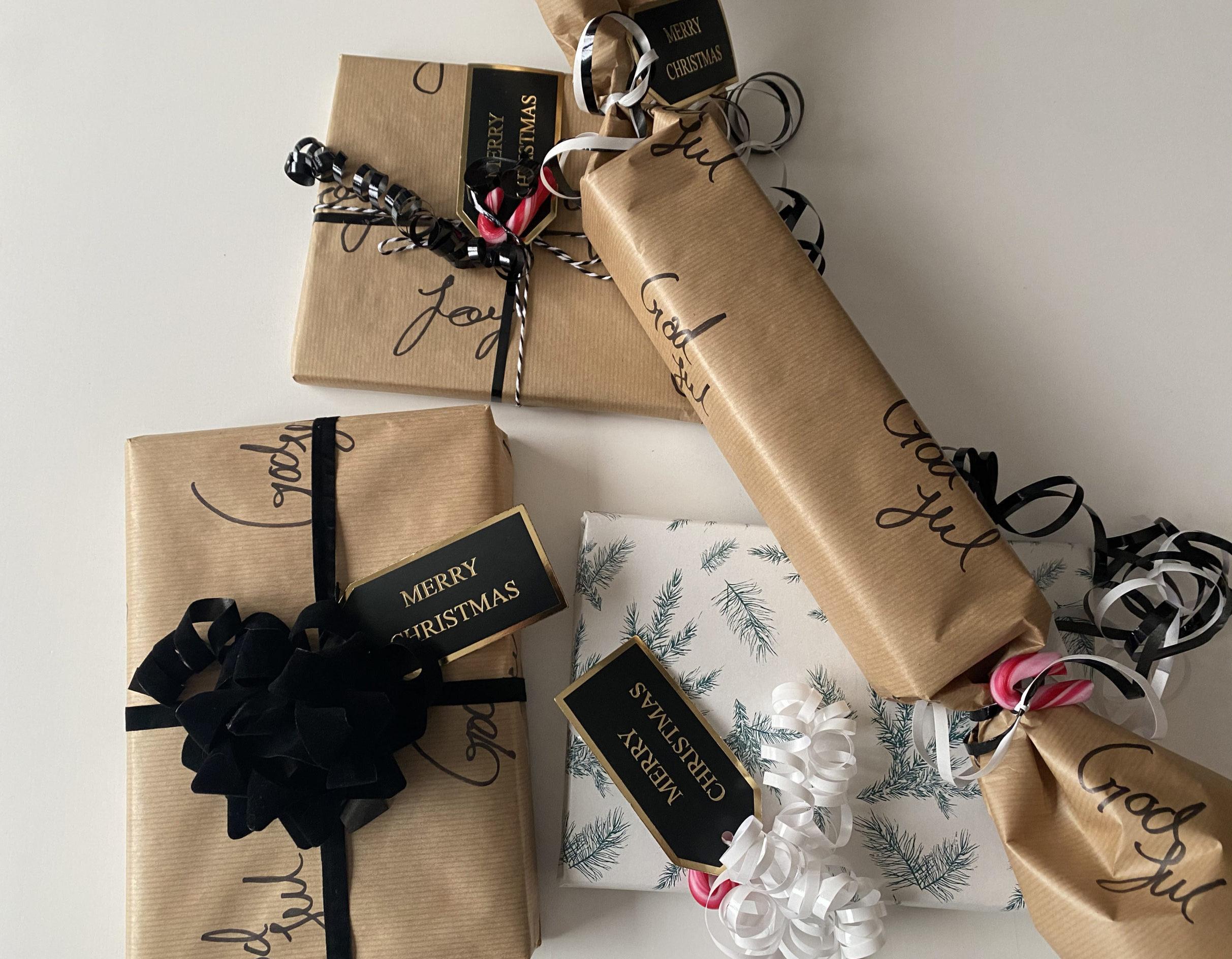 5 steg til kreativ julegave-innpakning!
